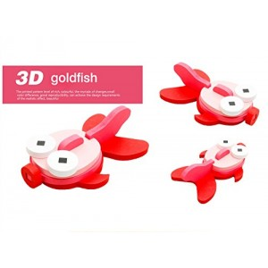 3-D Wooden Puzzle Affordable Gift for your Little One!(Golden fish )