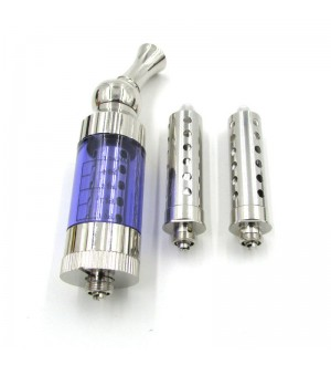 Eastvita iClear30S atomizer vapor Dual Coil add 2pcs replacement coil Blue