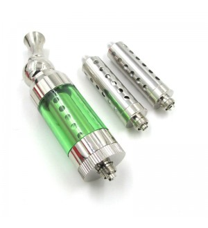 Eastvita iClear30S atomizer vapor Dual Coil add 2pcs replacement coil Green