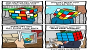 Solve the Rubik's Cube in 20 movements
